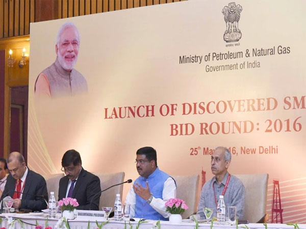 Domestic oil and gas production to boost as Govt launches 'Discovered Small Fields Bid Round-2016'
