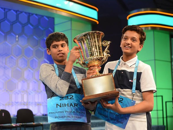 Two Indian-origin kids emerge as co-winners at US National spelling bee championship