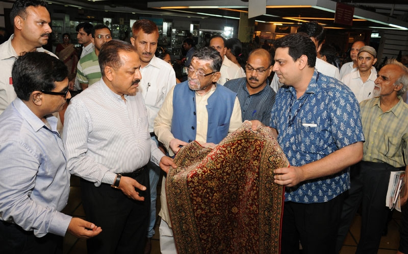 Exhibition of handicraft products from NE states inaugurated to boost Make in India initiative