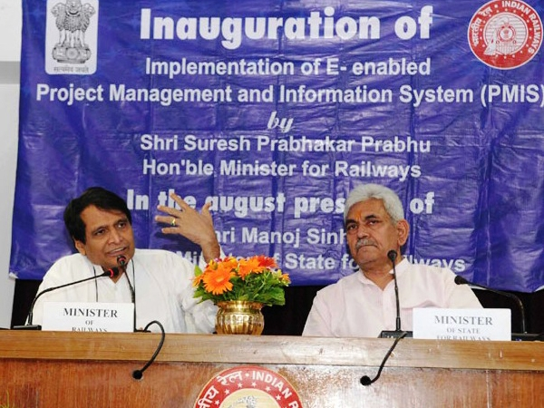 Prabhu launches E-enabled application 'PMIS' to monitor all railway projects across the nation