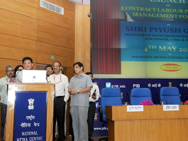 Goyal launches a CIL portal for contract labour payment management system to curb corruption