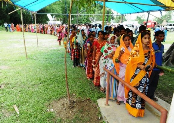 पश्चिम बंगाल: विधानसभा चुनाव के अंतिम चरण में भी पड़े बंपर वोट; 84.24 फीसद हुआ मतदान