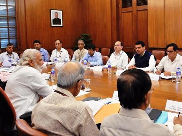 PM Modi discusses drought issues with Fadnavis; suggests steps to increase water use efficiency