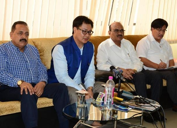 Rijiju reviews implementation of Bezbaruah Committee Report; urges to take necessary action