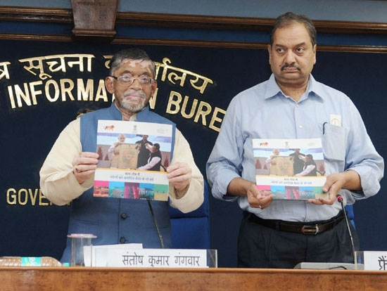 Textile exports grew by 8% during last two years informs Textiles minister Santosh Gangwar