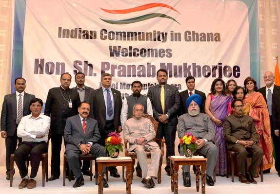 Prez Mukherjee addresses Indian community in Ghana; says India's friendship with Africa is enduring