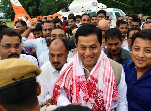 Assam CM Sonowal urges Water Resources Ministry for strengthening of embankments in the state