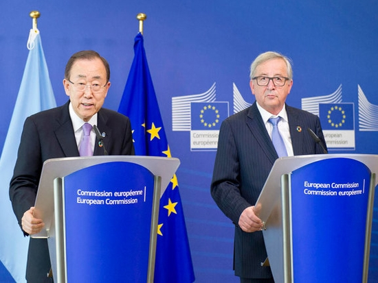 Ban Ki-moon urges Europe to remain committed to ideals of human rights and peaceful coexistence