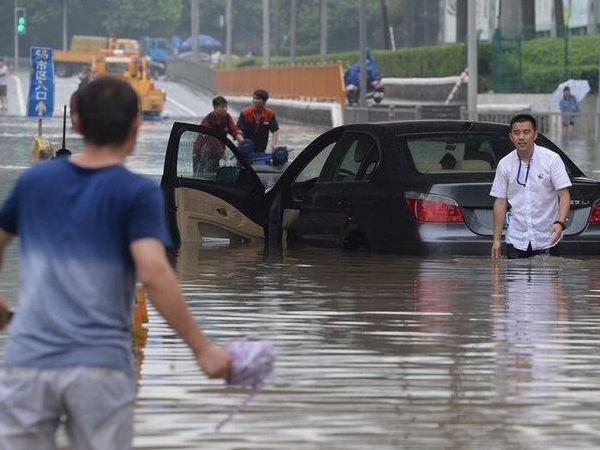 Plum rain hits China; citizens warned to be alert