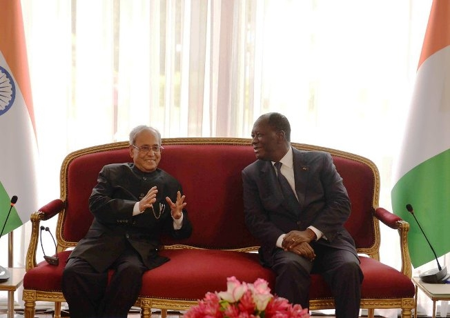 Indian community at Cote d'Ivoire symbols of India's Soft Power, says Prez Mukherjee