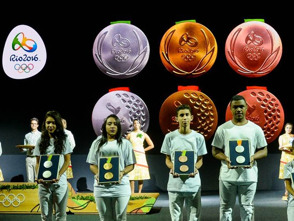 Rio 2016 releases medals, motto and official slogan for the Olympic Games