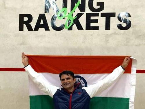Ashutosh Pednekar of Indian Navy creates history; wins International tournaments in Racketlon