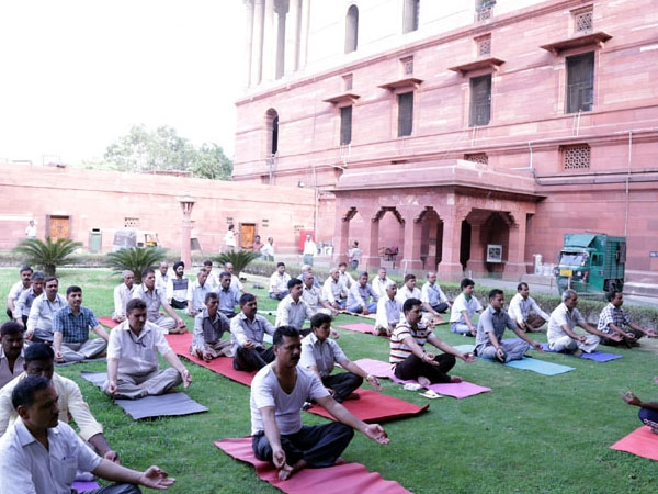AYUSH Ministry releases 'Yog Geet' as part of celebration of 2nd int'l Yoga day at a national level