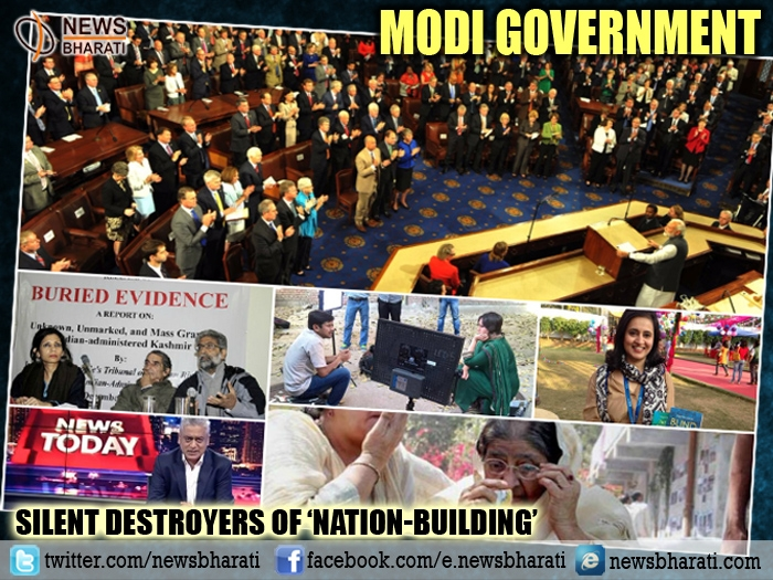 Modi Govt vs Five Silent Destroyers Of 'Nation-Building'
