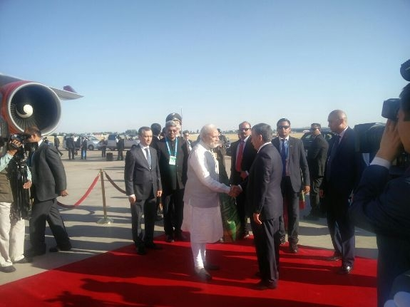 PM Modi leaves for India after successful SCO Summit; MEA terms it as a 'productive' visit
