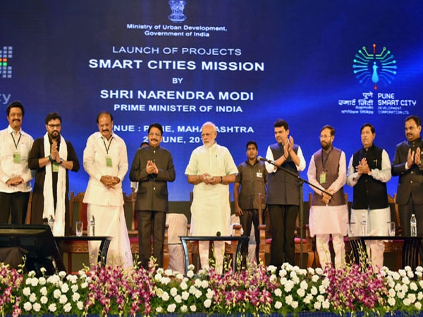 PM Modi launches 14 smart city projects in Pune; Rs 1770 crores to be invested