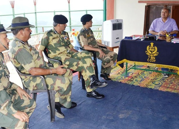 Susheel Kumar visits border areas of Tripura; appreciates efforts of BSF in guarding Int'l Border