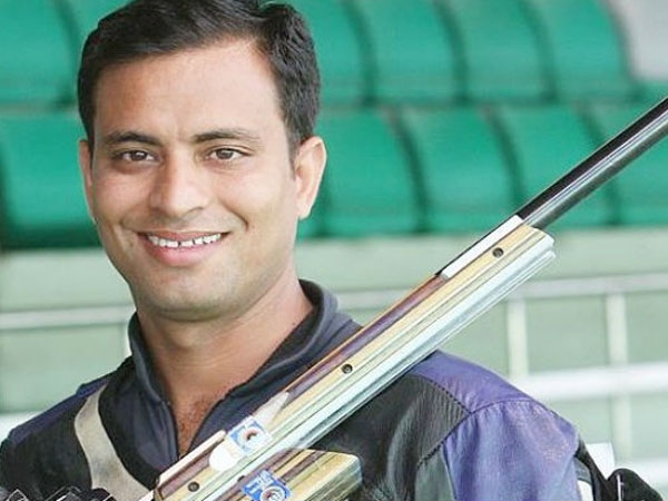 Sanjeev Rajput takes home Silver in men's 50-metre rifle 3 event at ISSF
