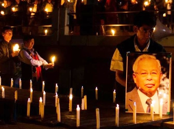 Co-founder of Nationalist Socialist Council of Nagaland Isak Chisi Swu passes away at age 86