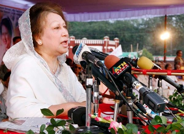 Khaleda slams Hasina-led govt in Bangladesh; says they should learn from Cameron and step down