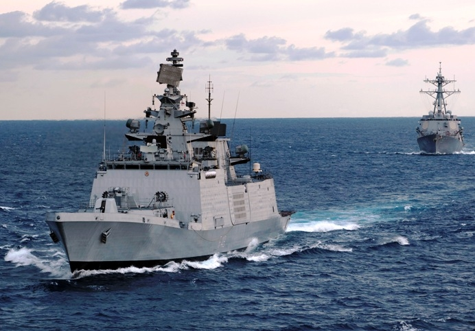 Indian warship INS Satpura reaches Hawaii to participate in the 25th edition of Exercise RIMPAC