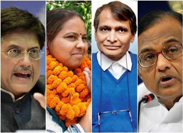 Goyal, Prabhu, Chidambaram, Jethmalani among others elected unopposed to RS