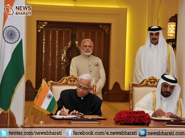 India-Qatar ink 7 agreements on skill development and education, health, tourism and sports to strengthen ties