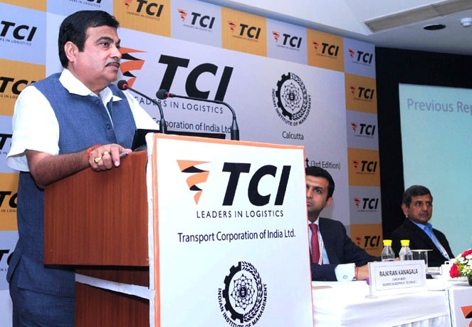 Gadkari launches TCI–IIM report on operational efficiency of freight transportation by road in India