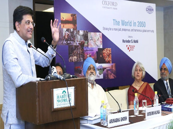 Goyal launches a book on Harmonious Global Community