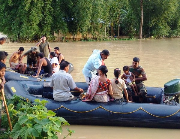 Assam's State disaster management authority issues flood alert in five revenue circles
