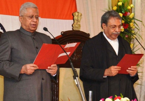 Tathagata Roy sworn-in as Governor of Arunachal during absence of incumbent Governor Rajkhowa