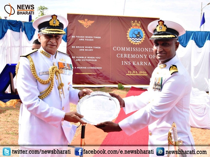 Marine Commandos get a new Base at Vizag as Naval Chief Lanba commissions 'INS Karna'