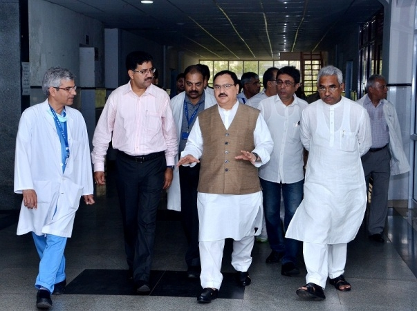 Nadda reviews preparedness of States to manage vector borne diseases at the onset of monsoon