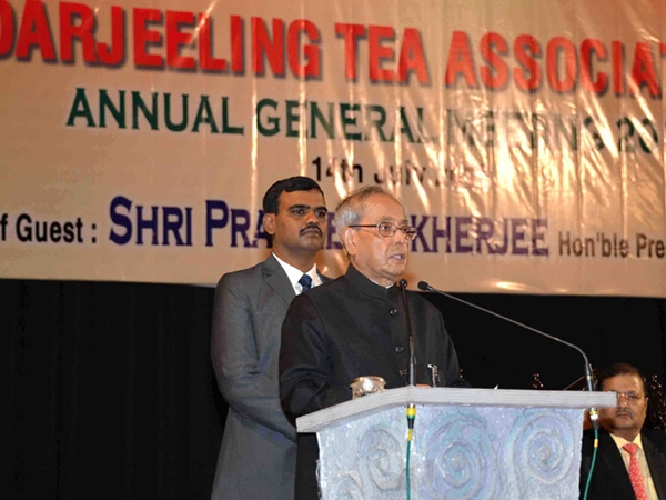 'Promotion of tea exports a major element of India's planned economic development' says Prez