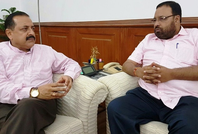 Assam Minister Mahanta meets Jitendra; discusses issues related to priority projects of Assam govt