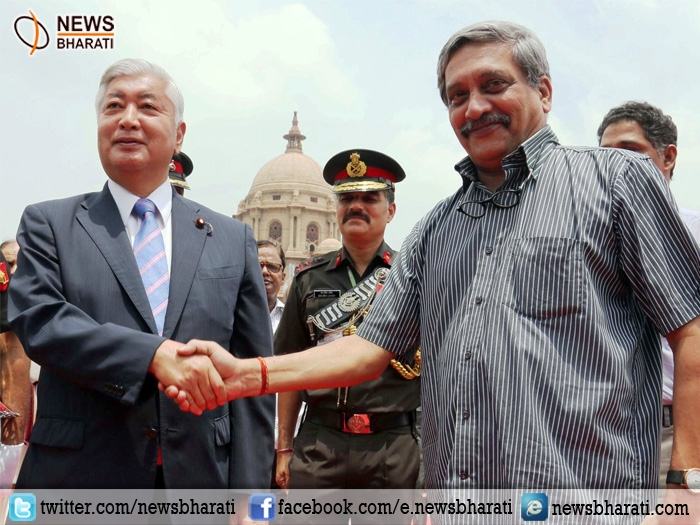 Parrikar meets Japanese Defence Minister; vow to jointly contribute to peace, stability of Indo-Pacific region