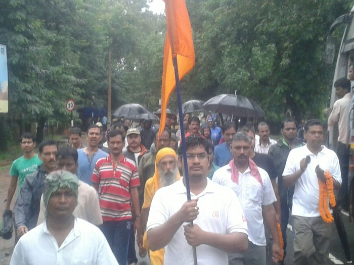 Bharat Parikrama Yatra enters Andhra Pradesh, covers 20000 km