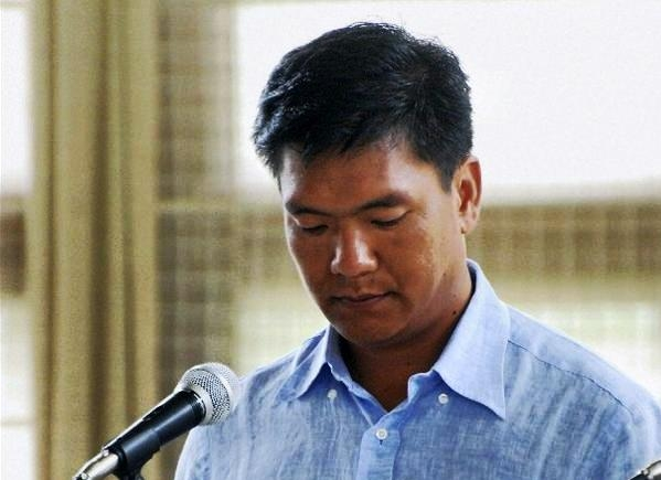 Pema Khandu sworn-in as new CM of Arunachal; says will work hard for developement of the state