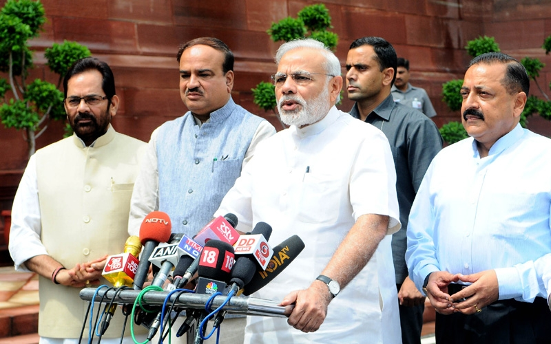 All parties should work together with constructive discussions in #MonsoonSession: PM Modi