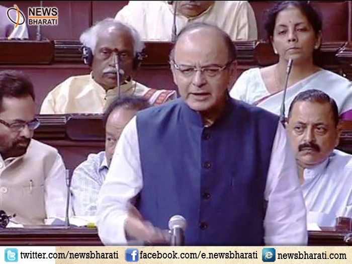 'Battle in Kashmir not between parties but between this country and separatists': Jaitley in RS