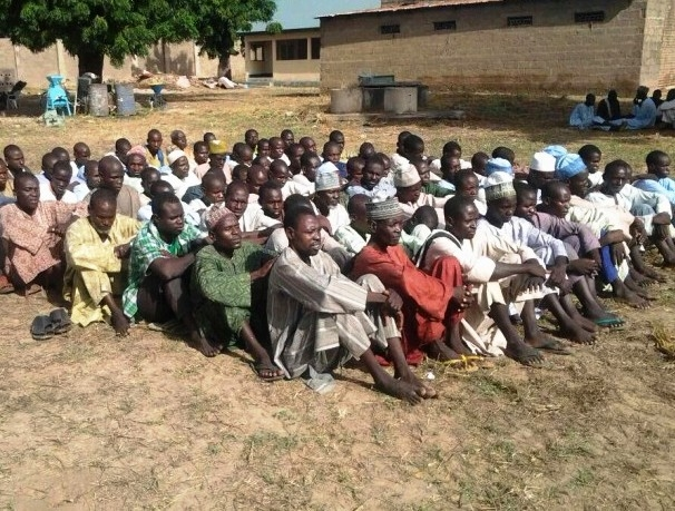 Nigerian Army releases 249 suspects detained as members of the extremist Boko Haram sect