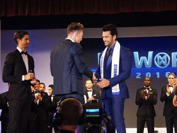 Model Rohit Khandelwal becomes Mr World 2016; first Indian to win the title