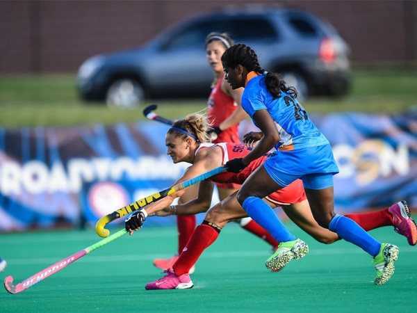 Indian women team makes a comeback by defeating USA in second game of hockey tour