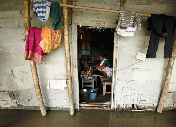 Flood situation in Assam and Arunachal Pradesh worsens; at least five lakh people hit