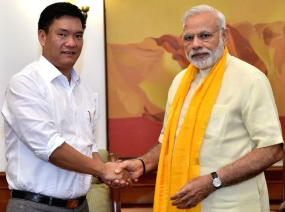 PM Modi assures full support from Central Government for development of Arunachal Pradesh
