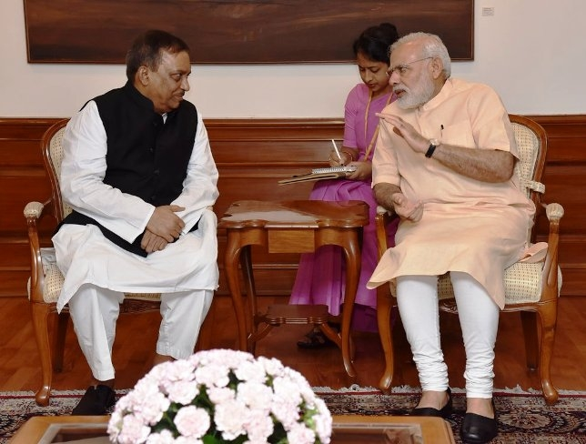 Bangladesh Home Minister Asaduzzaman meets PM Modi; discusses border management and security