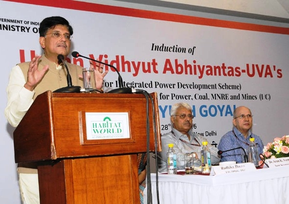 Goyal inaugurates induction program of UVA's; urges to take work as a mission rather than a job