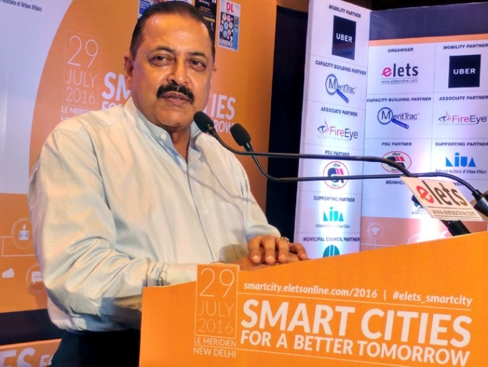 Smart City is a 'wholesome' concept and cannot be practiced in piece-meal or in parts: Jitendra