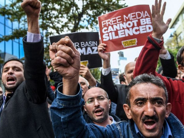UN, OSCE condemn crackdown on journalists and media by Turkey Government