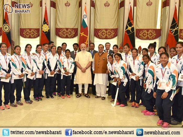 Prime Minister Modi meets Rio-bound athletes; wishes them good luck for the Olympic Games